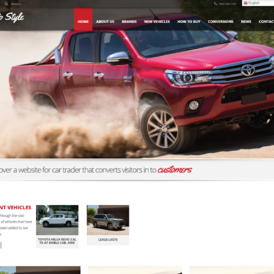Web Design & Development | Auto Style
