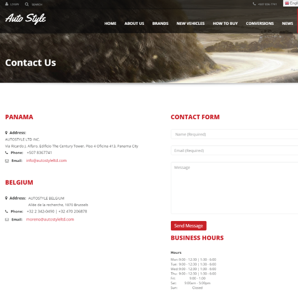 Web Design & Development | Auto Style
