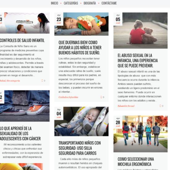 Web Design & Development   Josefina Luna