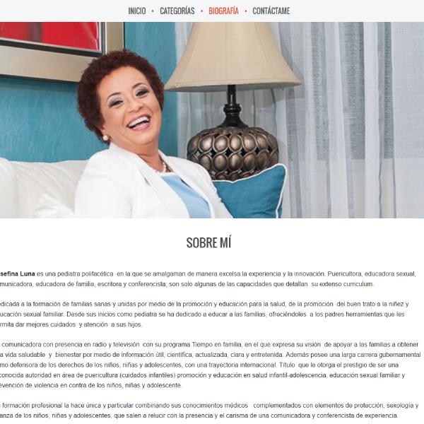 Web Design & Development | Josefina Luna