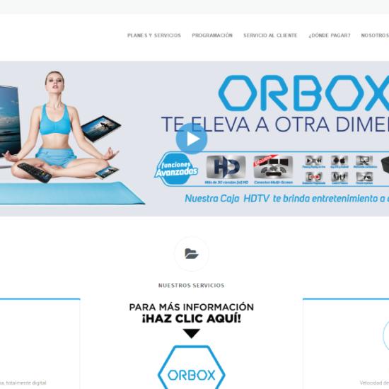 Web Design & Development | Orbit Cable