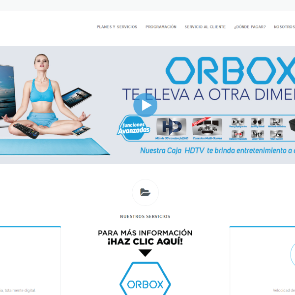 Web Design & Development | Orbit Cable