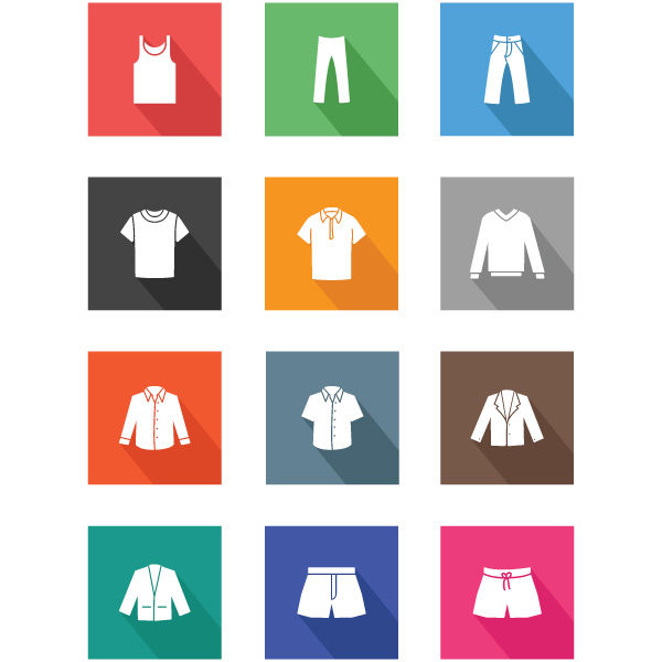 Recursos | Clothing Icons
