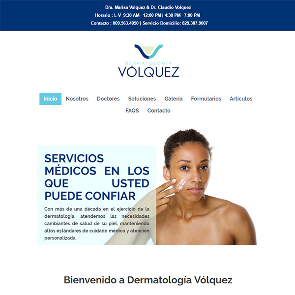 Search Engine Optimization | Dermatología Vólquez